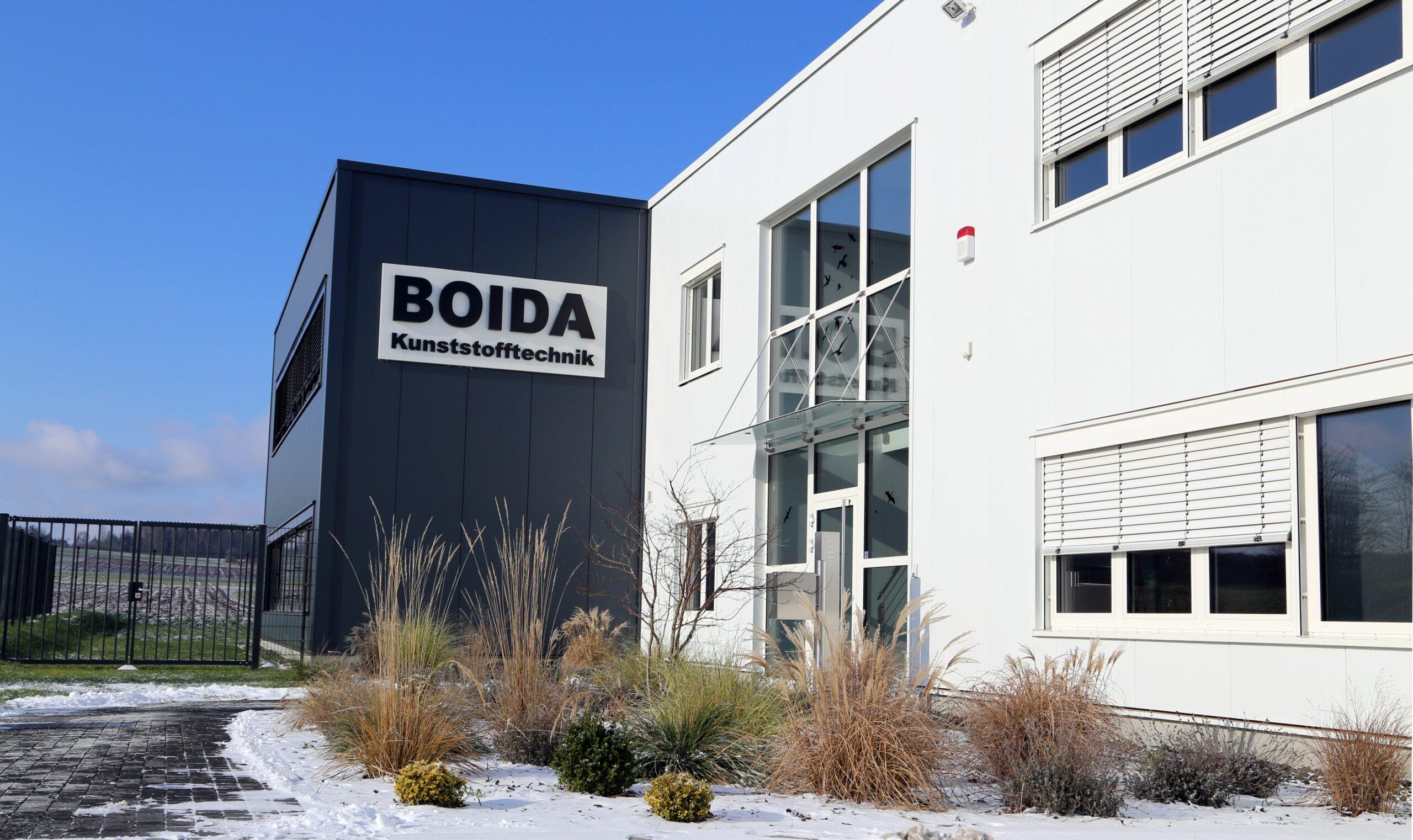 Boida Kunststofftechnik Langgöns Außenansicht Lager und produktion