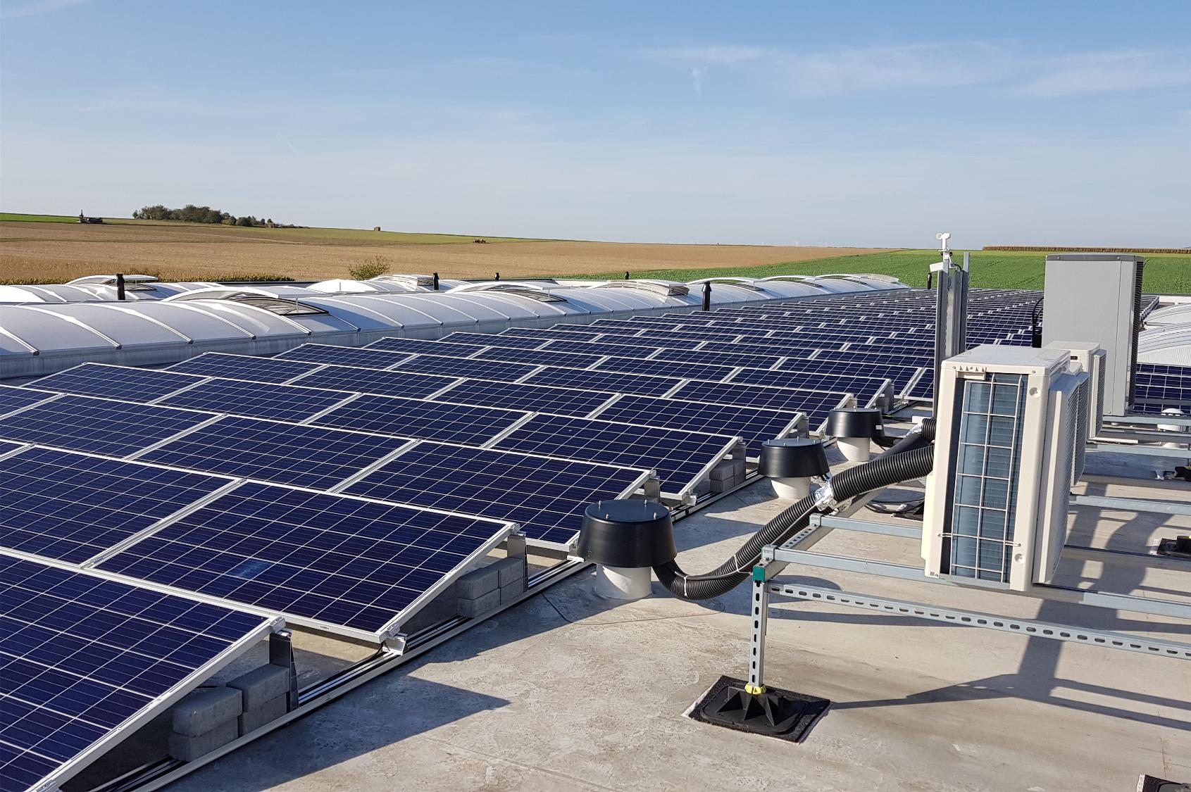 Photovoltaikanlage bei BOIDA - Nachhaltigkeit