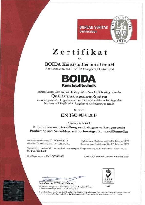 1369 QM 02 001 Boida Deutschland 9001 deutsch V2 ausgestellt.pdf1369 QM 02 001 Boida Deutschland 9001 deutsch V2 ausgestellt